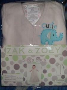 Zak Amp Zoey Size 0 12 Month Cutie Sleep Sack Wearable