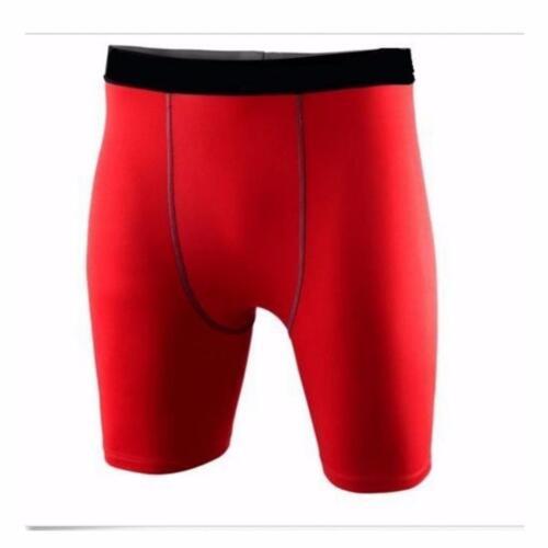 Kid Children Boy Compression Base Layer Thermal Sport Skins Under Gear Shorts UK