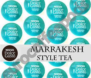 Charmant Dolce Gusto Marrakesh Style Tea Dosettes 100 Capsules 100 Boissons Vendues En Vrac-afficher Le Titre D'origine