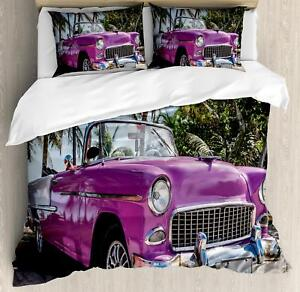 Colorful-Cars-Duvet-Cover-Set-Twin-Queen-King-Sizes-with-Pillow-Shams-Bedding