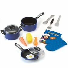 Learning Resources Pretend & Play Pro Chef Toy Set Childen Toddler Kids Kitchen