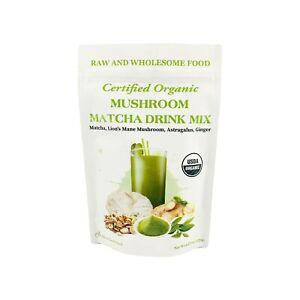 Cherie-Sweet-Heart-Organic-Mushroom-Matcha-Drink-Mix-Powder-4-23oz-40-Servings
