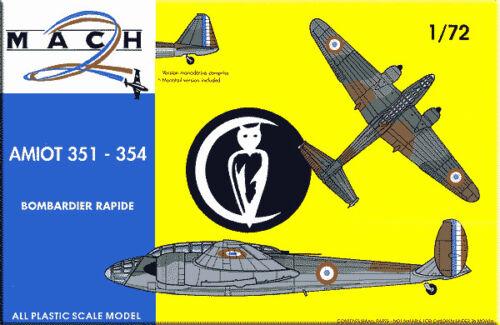 354 # 1472 Mach 2 1//72 Amiot 351