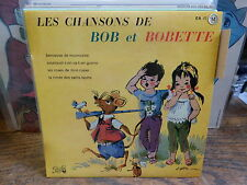 les chansons de Bob et Bobette - berceuse de nounourse -  pathé EA 45