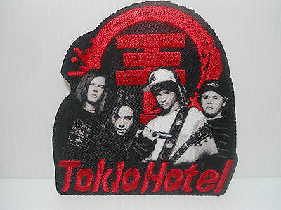 "Toppa Termoadesiva/Thermoadhesive Patch "" Tokio Hotel "" (Top 324 )-"