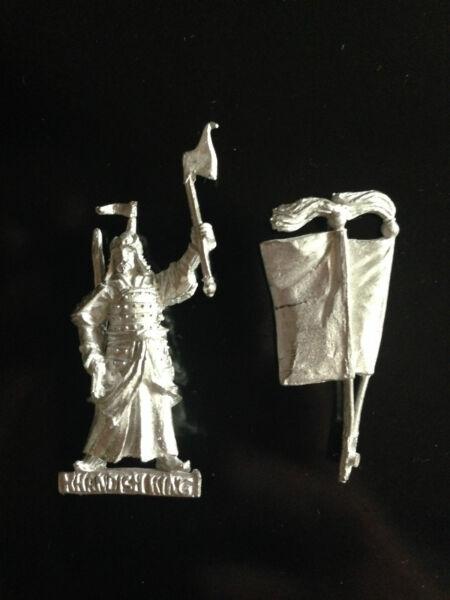 Modesto Warhammer Lord Of The Rings Lotr - Khandish King On Foot Metal Oop