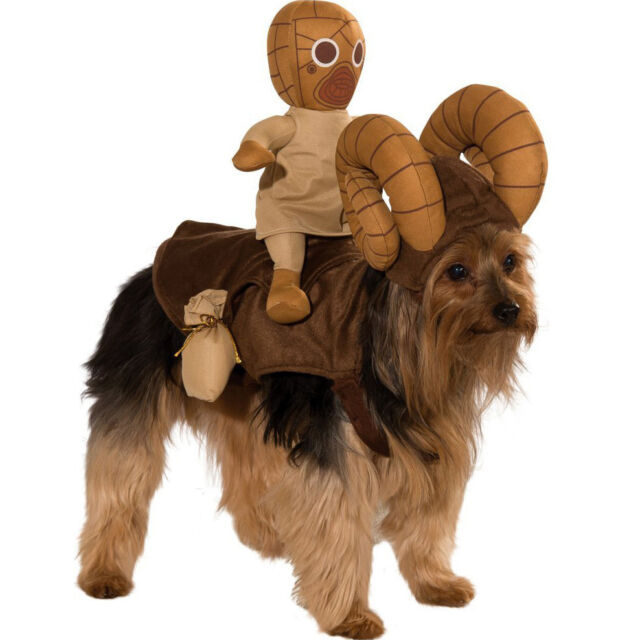PET COSTUME Star Wars Bantha Sand People HALLOWEEN COSPLAY NEW