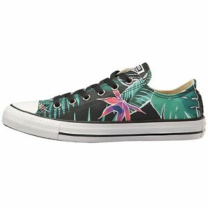 Converse Chuck Taylor All Stars Tropical Print OX Low Top Multi Mens Trainers