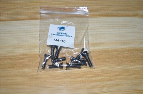 10pcs M4 x 16mm Insert Torx Screw for Carbide Inserts Lathe Tool