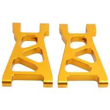 RC Himoto M606 Gold Alum Lower Suspension Arm 2P For 1/18 E18XBL Elcetric Buggy