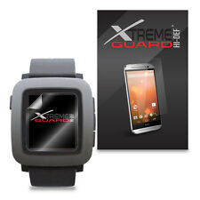 6-pack HD XtremeGuard Hi-def Screen Protector Cover for Pebble Time Smartwatch