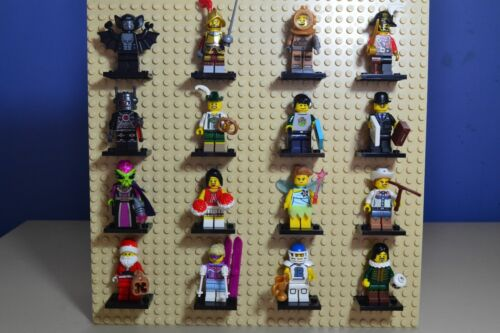LEGO SERIES 8  Complete Set of 16 MINIFIGURES 8833