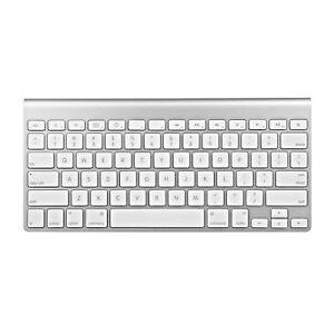 Apple-A1314-78-Key-Bluetooth-Wireless-Mini-Keyboard-Aluminum-with-White-Keys