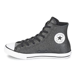 all star converse noir en cuir