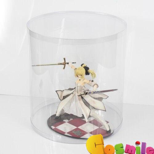 Cylinder Model Acrylic Display Stand figure gundam,bearbrick Cosplay Box Big