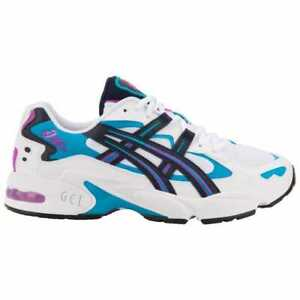 buy online 8beca 09ede Image is loading ASICS-Tiger-GEL-Kayano-V-OG-White-Teal-