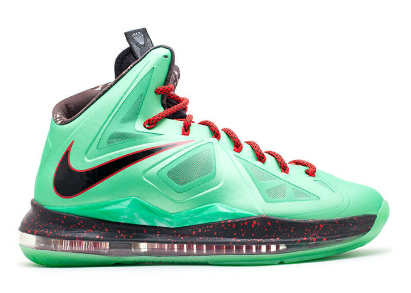 Nike LeBron 10 X Cutting Jade Comfortable The latest discount shoes for men and women