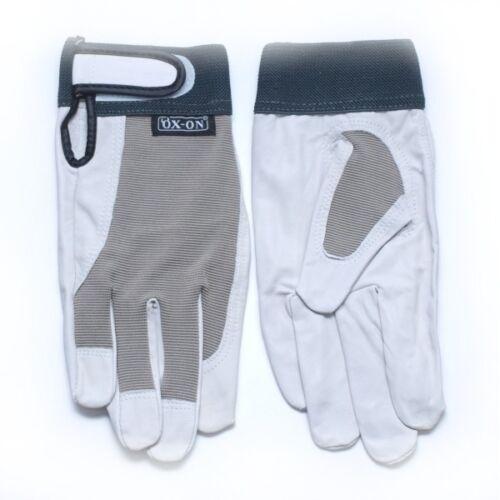 OX ON Worker Comfort Gr 8 M Arbeitshandschuhe Lederhandschuhe Kenwo Handschuhe