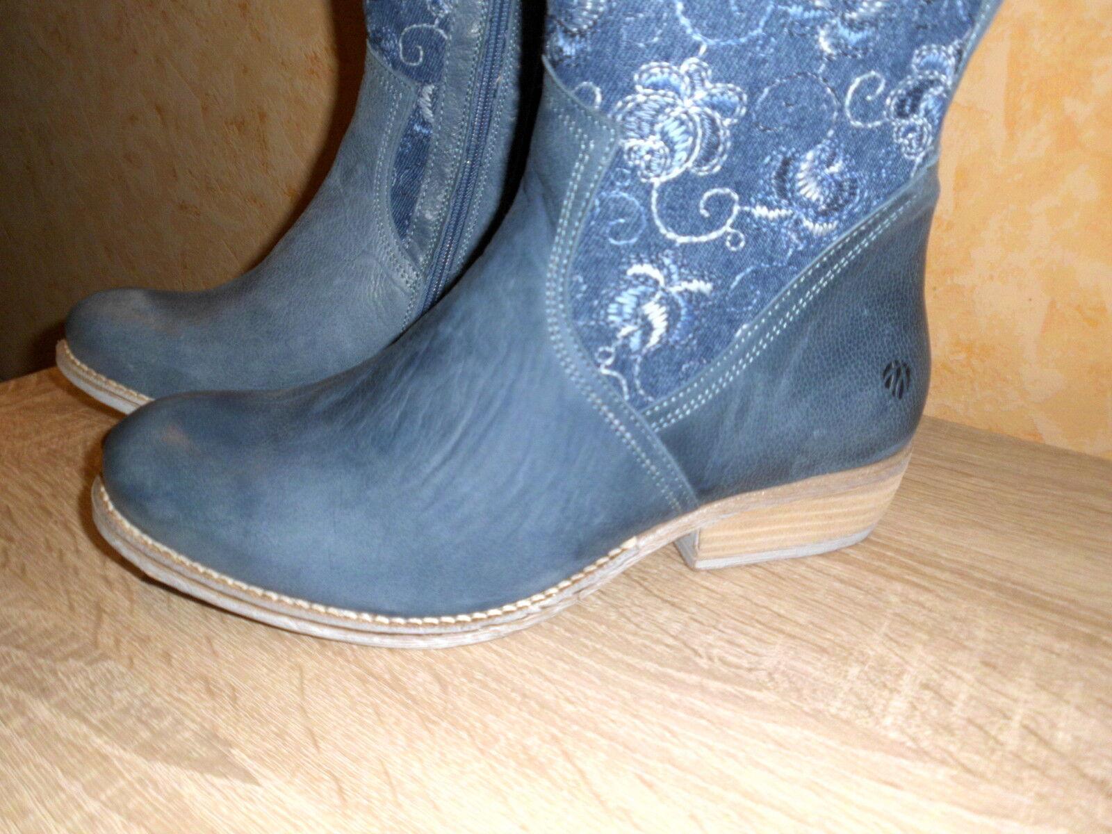 JJ Alexandria Footwear XXL Weitschaft Stiefel Alexandria JJ in kobaltblau NEU Gr. 44 JJFW chic b603c2