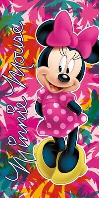 Disney Toalla Playa Minnie /& Daisy Surf s Up cm 70/x 140
