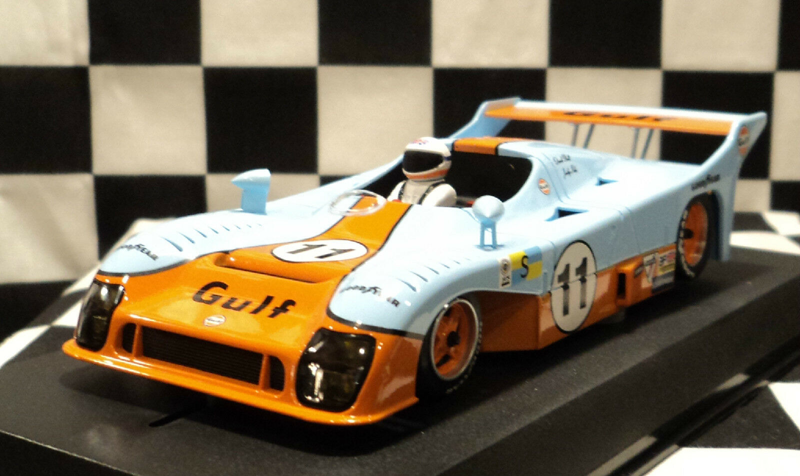AVANT SLOT 51202 Mirage Gr.8 du Mans winner 1975 GULF  11 Brand New 1 32 Slot Car