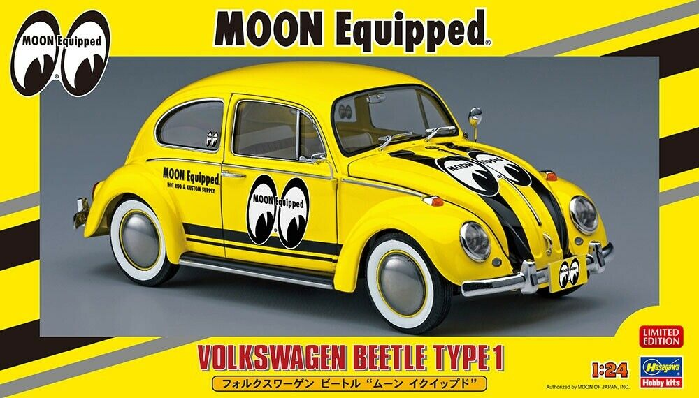 Hasegawa 1 24 Volkswagen (VW) Beetle Type 1  MOON Equipped