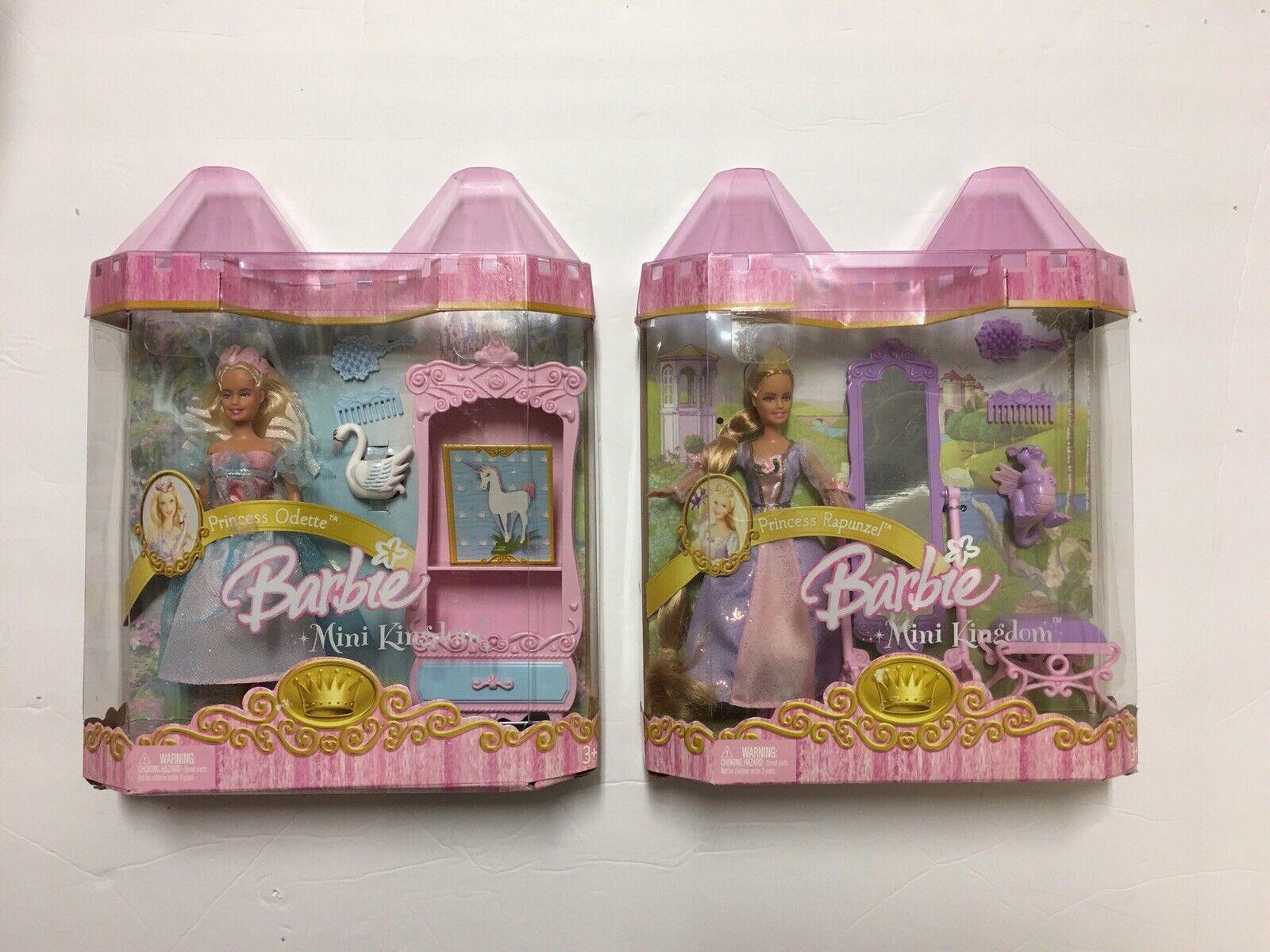 Barbie Princesa Odette Mini Reino y Princesa Princesa Princesa Rapunzel 2005 Totalmente Nuevo  100% precio garantizado