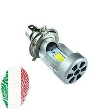 DC6-36V H4 9003 20W 2 LED CE Moto Lampadina Fari Alta/Lo Faro Luce Bianca