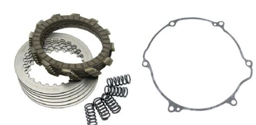 FITS: KTM 525 EXC MXC SX 4-Stroke 2003 Tusk Clutch Kit, Springs, + Cover Gasket