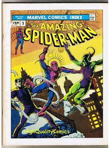 AMAZING-SPIDER-MAN-MARVEL-INDEX-TPB-GN-1st-FN-1976
