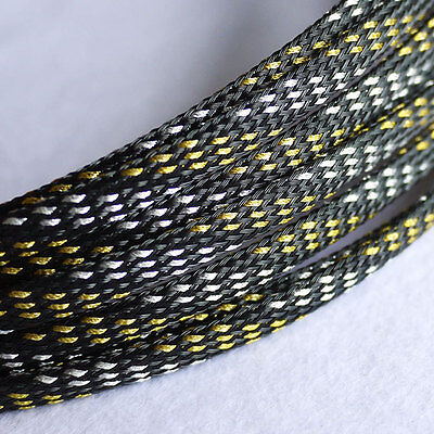 4mm Braided PET Expandable Sleeving New High Quality