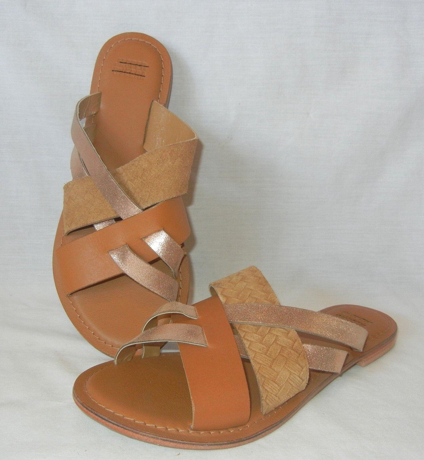 Jasper Jasper Jasper & Jeera donna's Leather Sandal Slides Retail  78 Dimensione 5 541e19
