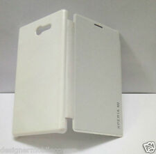 for sony xperia m2 m 2 hard flip back case cover white new