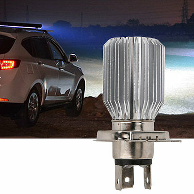 H4 White COB LED Hi/Lo Beam Motorcycle Headlight Front Light Bulb Lamp 6-80V P5