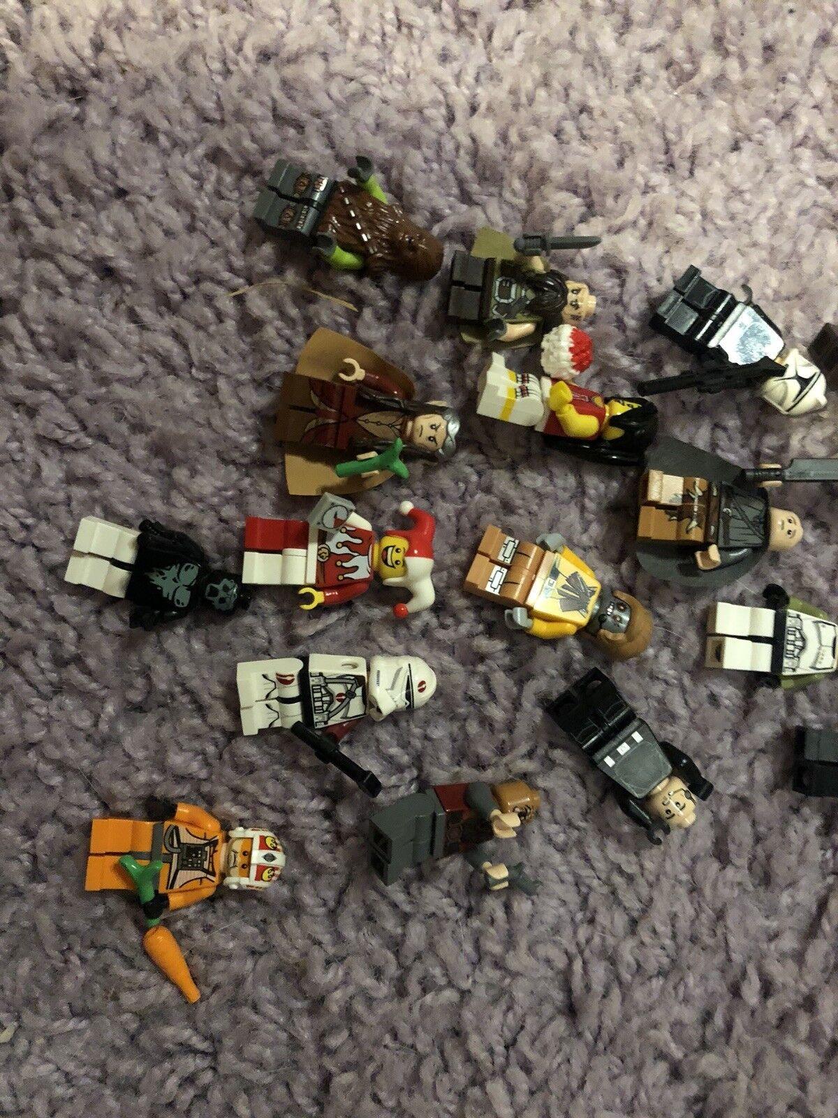 Lego Lego Lego Figuren Sammlung  Star Wars Herr Der Ringe Hobbit etc. 34589b