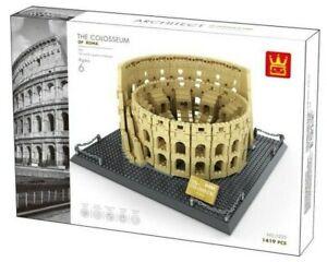 Wange 5225 Kolosseum in Rom Klemmbausteine Architektur Modell NEU