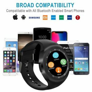 Y1-Sports-Round-Bluetooth-Smart-Watch-Pedometer-Sim-for-Android-IOS-Smartphones