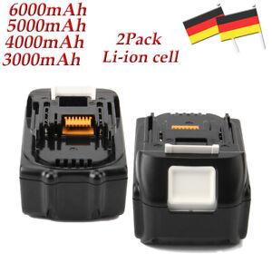 2Pack-18V-6000mAh-Li-ion-Battery-For-Makita-BL1860-BL1850-BL1830-BL1840-BL1815