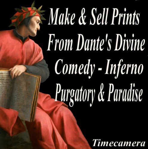 Pro ENGRAVINGS Print /& Sell Doré DANTE INFERNO PRINTS Image Collection