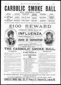 1892-Antique-Print-ADVERTISING-Carbolic-Smoke-Ball-CARLILL-Mackenzie-31