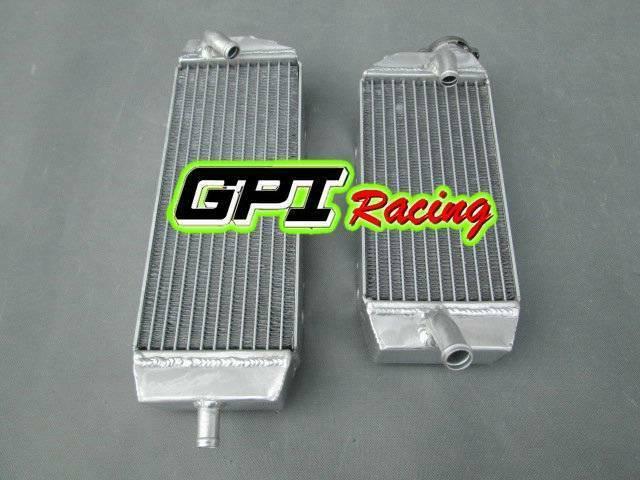 FOR Kawasaki KX250F KXF250 KX 250 F 06 07 08 2006 2007 2008 Aluminum radiator