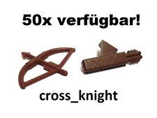 LEGO - 1x Pfeil und Bogen + Köcher NEU! Burg Ritter  Robin Hood Indianer