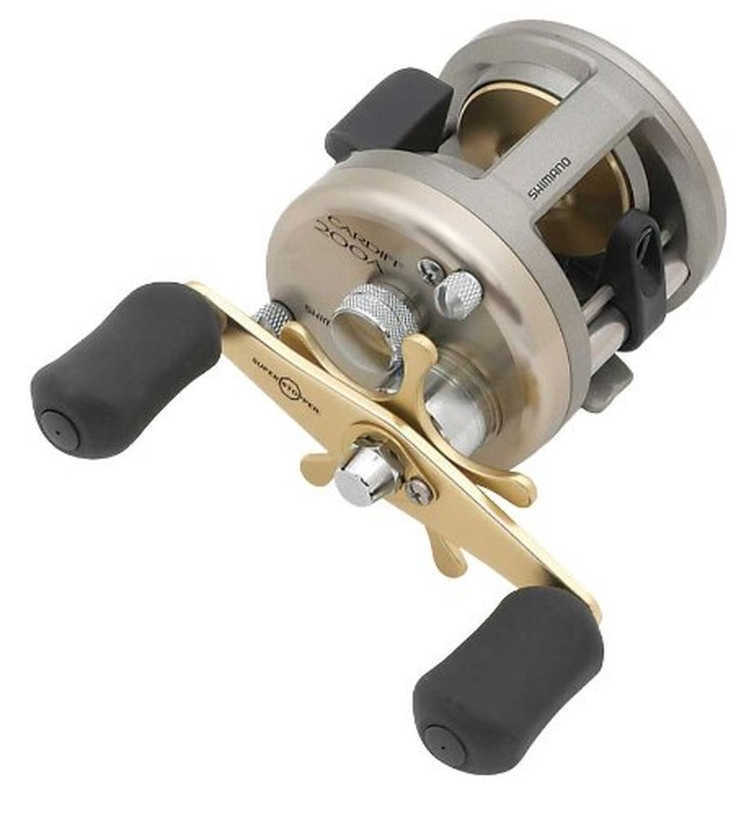Shimano Cardiff 200A, Round Baitcast Fishing Reel Righthand, CDF200A