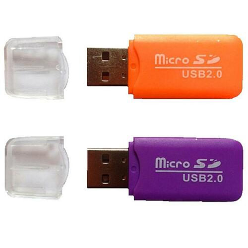 Useful Mini USB 2.0 Card Reader for Micro SD Card TF card Adapter Plug and Play