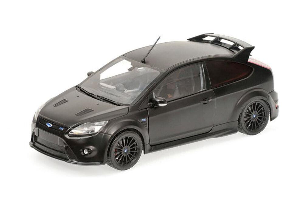 Minichamps 100080000 1 18 Ford Focus RS 500 2010 Matt nero