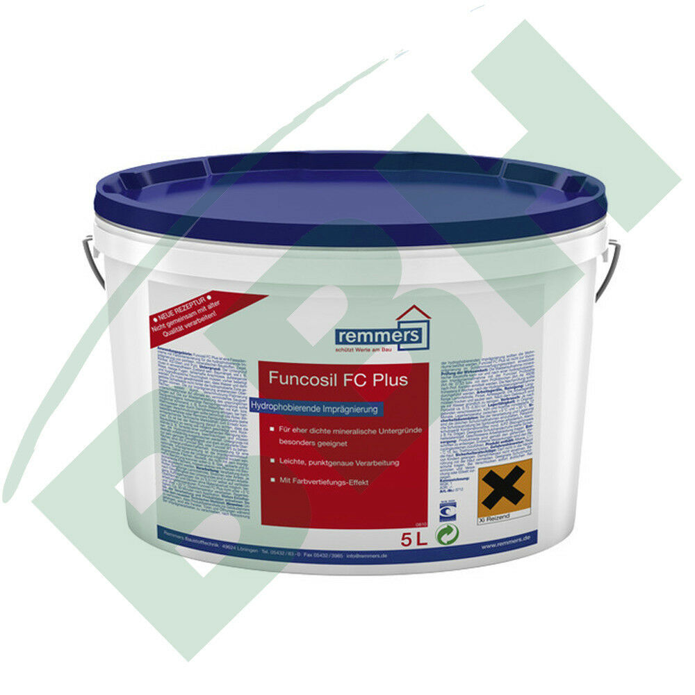 (  L) Remmers Funcosil FC PLUS 5 Liter Fassadencreme