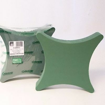 """FLORAL FOAM NAYLORBASED CUSHION IN 2 SIZES 12/"""" 15/"""" FLORISTRY FUNERAL OASIS TYPE"""