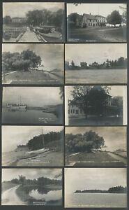 Troutburg-Morton-Hamlin-NY-Ten-1907-10-RPPC-Postcards-AT-amp-AROUND-ONTARIO-HOUSE
