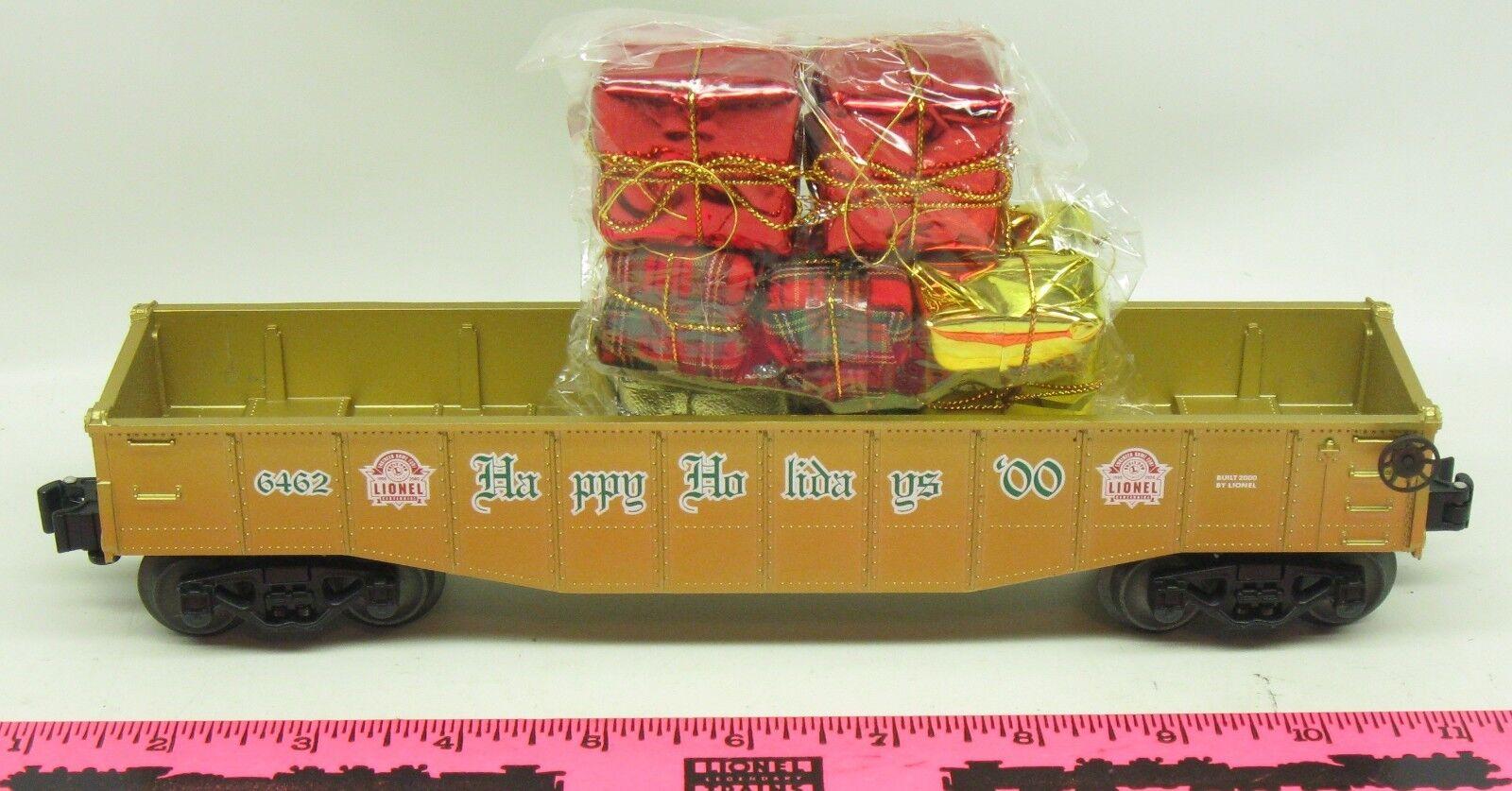 Lionel  6462 Happy Holidays 2000 Gondola with presents