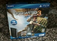 Sony PlayStation 3 Uncharted 3 Bundle 250GB Brand New Sealed OOP HTF Rare